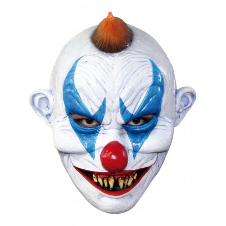 Masque latex clown horreur luxe