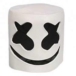 Masque latex Marshmello
